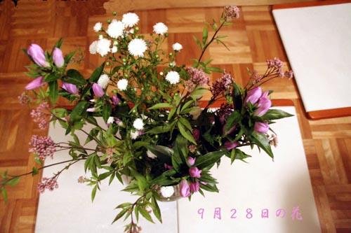 命日の花・05年9月